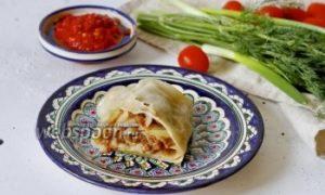 Ханум с мясом и картошкой