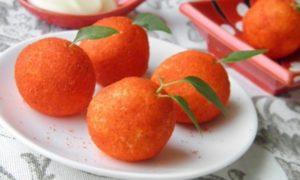 Плавленый сыр с чесноком «Мандаринки»