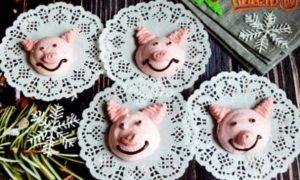 Безе «Веселые свинки»