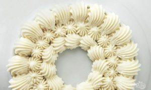 Сливочный крем для украшения торта