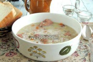 Бюнднерский перловый суп