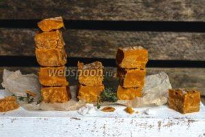 Помадка со вкусом солёной карамели