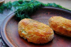 Картофельные зразы с сыром фета и зеленью