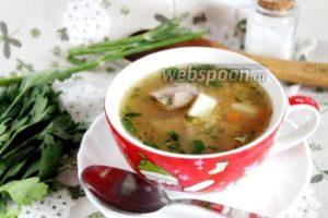 Суп с бараниной и чечевицей