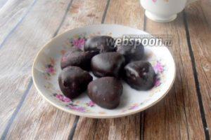 Домашние конфеты «Вишнёвое желе в шоколаде»