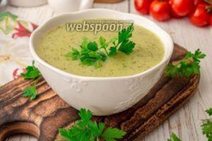 Крем-суп из цуккини с кокосовым молоком